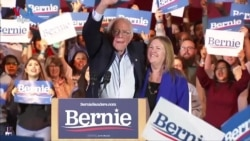 លោក Sanders ឈ្នះលើបេក្ខជនដទៃទៀតក្នុងការបោះឆ្នោតជ្រើសបេក្ខជនប្រធានាធិបតីនៅរដ្ឋ Nevada