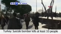 VOA60 World - IS Blamed for Istanbul Suicide Bombing