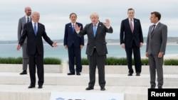 Para pemimpin G-7 telah menyelesaikan pertemuan puncak mereka di Carbis Bay, Inggris.