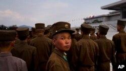 Un soldat nord-coréen