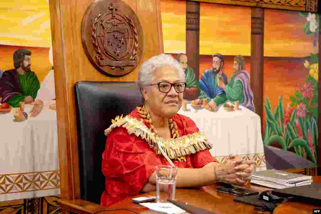 Samoanın yeni Baş naziri Fiame Naomi Mataafa kabinetinin ilk iclasını keçirib