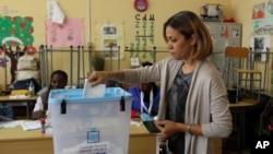 Eleitora angolana, 2017