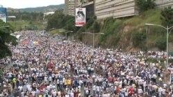 Se inicia la marcha por el revocatorio en Venezuela