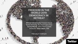 Venezuela y Nicaragua están en la mira del reporte anual de Freedom House, en medio de las crisis políticas que viven ambas naciones, donde cientos de personas han muerto debido a la violencia usada para desalentar las protestas populares contra sus gobernantes.