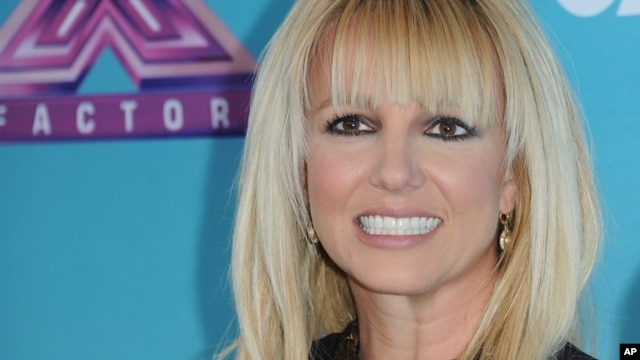 "Britney Spears arrives at the ""X Factor"" season finale press conference at CBS Studios on Dec. 17, 2012, in Los Angeles."