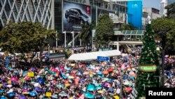 Protestos na Tailândia páram Banguecoque