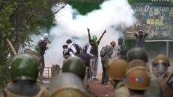 بھارتی کشمیر: جھڑپیں،آنسو گیس اورگرفتاریاں