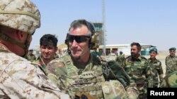 Tướng Mỹ John Nicholson tại tỉnh Helmand, Afghanistan (ảnh tư liệu, 4/2017)