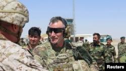 အာဖဂန္ Helmand ေဒသတြင္း ကန္တပ္ဖဲြ႔ေတြျပန္ေနရာယူ