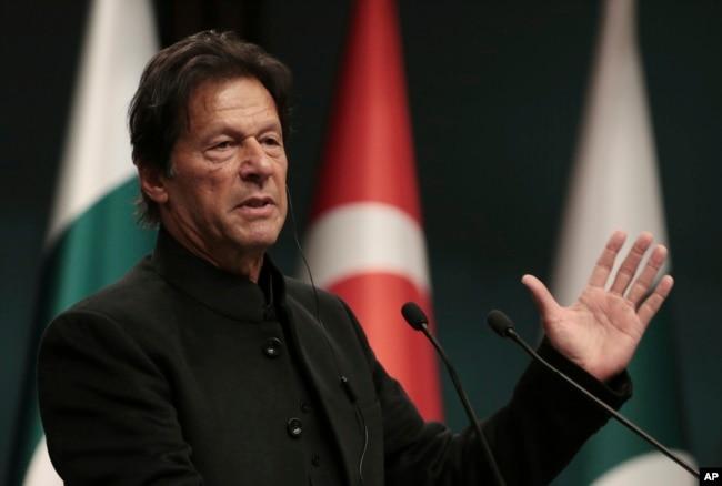 Pakistanın baş naziri İmran Xan