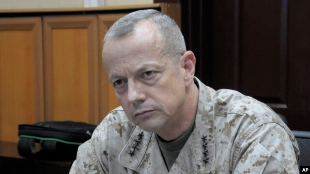 General John Allen (2012 file photo)