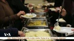 Des étudiants étrangers découvrent la fête de Thanksgiving dans l'Indiana