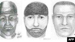 Сделанные в разные годы рисунки художников-криминалистов с изображением подозреваемого в массовых изнасилованиях. Ааарон Томас был арестован почти через 14 лет после совершения первого преступления.