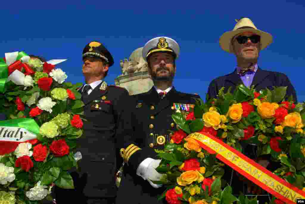 Представители Италии и Испании