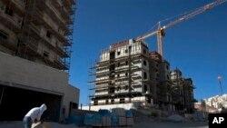 Строительство в Восточном Иерусалиме, район Хар-Хома.