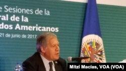 Sekretè Jeneral OEA a, Luis Almagro