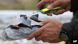 Pihak berwenang menyita kokain selundupan (foto: ilustrasi).