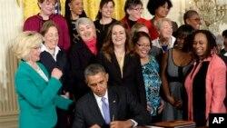 奧巴馬總統簽署行政命令