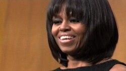 Новая прическа Мишель Обамы