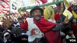 Warga Indonesia turut memeriahkan kampanye Pilpres yang lalu (foto:file)