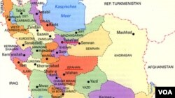 Iran Population map