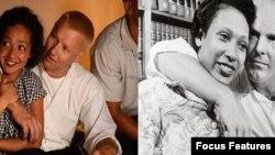 ریچارد لاوینگ و همسرش میلدرد، جول اجرتون و روث نگا، بازیگران فیلم «لاوینگ»