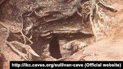sullivan cave before gate installation