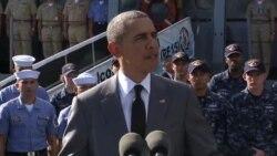 اوباما در فیلیپین: آمریکا به امنیت آب های منطقه کمک می کند