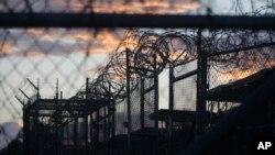 Kamp tahanan AS di Guantanamo, Kuba (foto: dok).