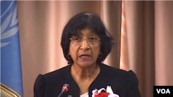Trưởng Cao ủy Nhân quyền Liên hiệp quốc Navy Pillay nói rằng bằng chứng thu thập được cho thấy Tổng thống Syria phạm tội ác chiến tranh và tội ác chống nhân loại