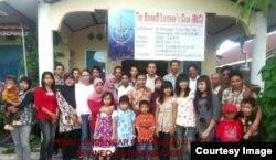 Pertemuan Kelompok Pendengar Borneo. (Foto: Rudy Hartono)