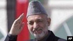 افغان جمهوررئيس حامد کرزى دهند په سفر