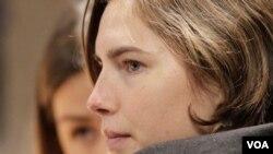 La estudiante estadounidense Amanda Knox, condenada en Italia, espera que la apelación le permita salir en libertad.