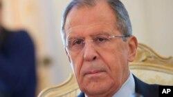 Menlu Rusia Sergei Lavrov mendesak persetujuan mengenai daftar kelompok teroris yang ada di Suriah (foto: dok).