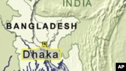 Map of Dhaka, Bangladesh