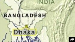 Map of Dhaka, Bangladesh