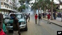 Manifestação dos veteranos de guerra em Luanda (Foto de arquivo - Junho 2012)