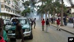 Manifestação dos veteranos de guerra em Luanda, Angola (Junho 2012)