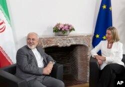 Iranski ministar vanjskih poslova Javad Zarif i šefica evropske diplomatije Federica Mogherini