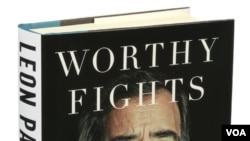"""Worthy Fights: A Memoir of Leadership in War and Peace"" yang ditulis oleh mantan Menhan AS Leon Panetta (foto: dok)."