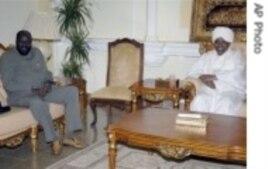 Salva Kiir (l) and Presiunt Bashir (r) file