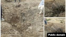 سقوط شیء پرنده در تکاب- آذربایجان شرقی