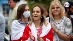 En Fotos: Continúan las protestas contra Lukashenko en Zhodino y Minsk