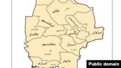 شهر سرباز در جنوب شرق ایران در استان سیستان و بلوچستان قرار دارد