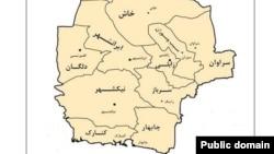 جکیگور در راسک، مرز ایران با استان بلوچستان پاکستان است