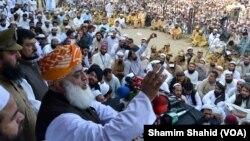 Maulana Fazl ur Rehman of JUI (F), Pakistan