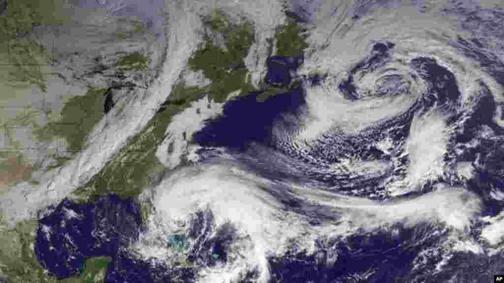 """Furacão """"Sandy"""" foi uma super-tempestade"""