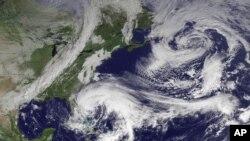 Bão Sandy sẽ mạnh đến độ sẽ ảnh hưởng đến khắp miền đông Hoa Kỳ với mưa to, gió lớn, lụt lội, mất điện và có cả tuyết