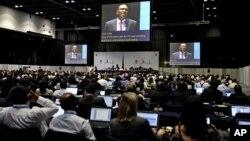 La conferencia de la UIT, un organismo de ONU, reúne a casi dos mil delegados de 193 países.