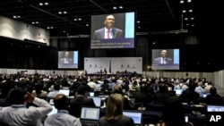 Liên minh Viễn thông Quốc tế ITU đã tổ chức Hội nghị Quốc tế ở Dubai để cập nhật các luật lệ và qui định về viễn thông đã được áp dụng từ năm 1988